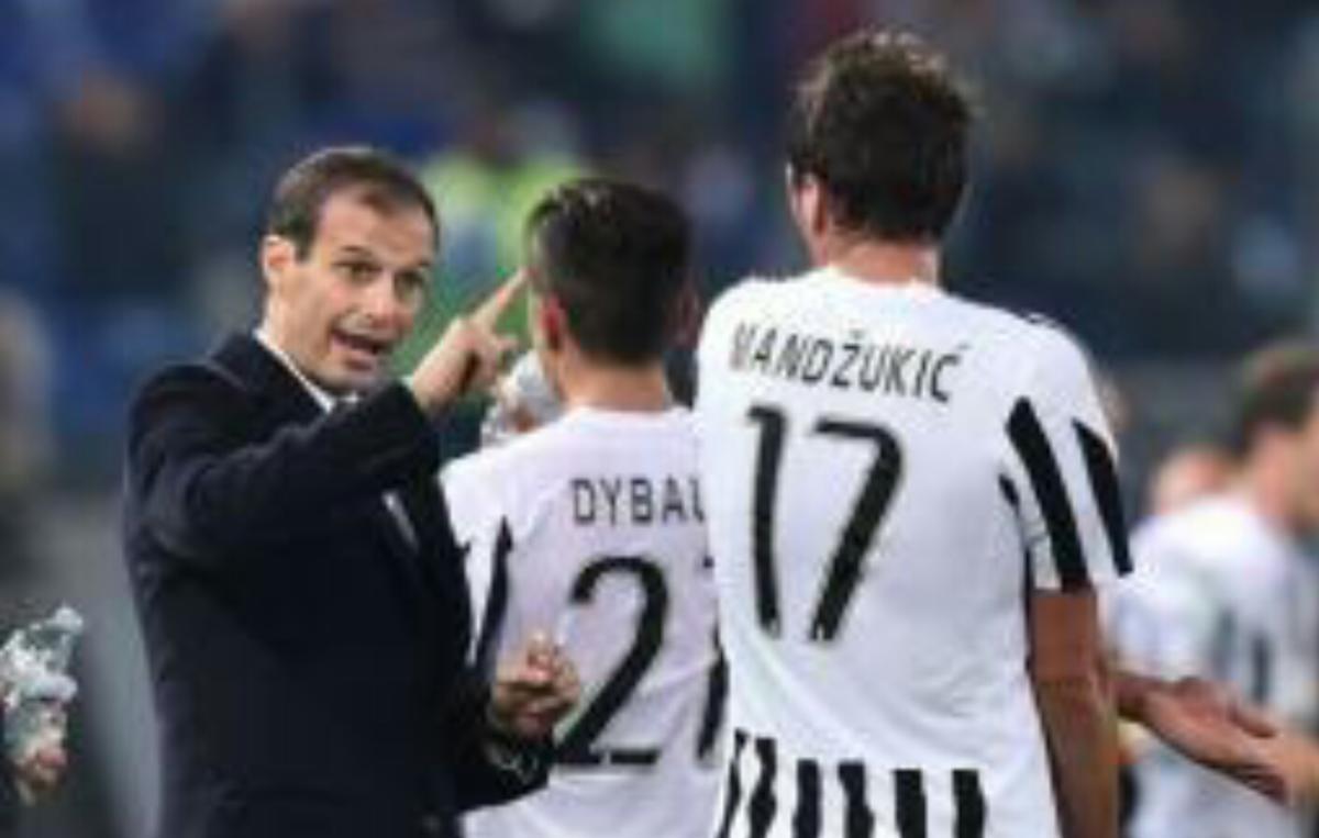 "Gazzetta: ""Tegola Juve, Allegri perde Mandzukic per Napoli-Juve"""