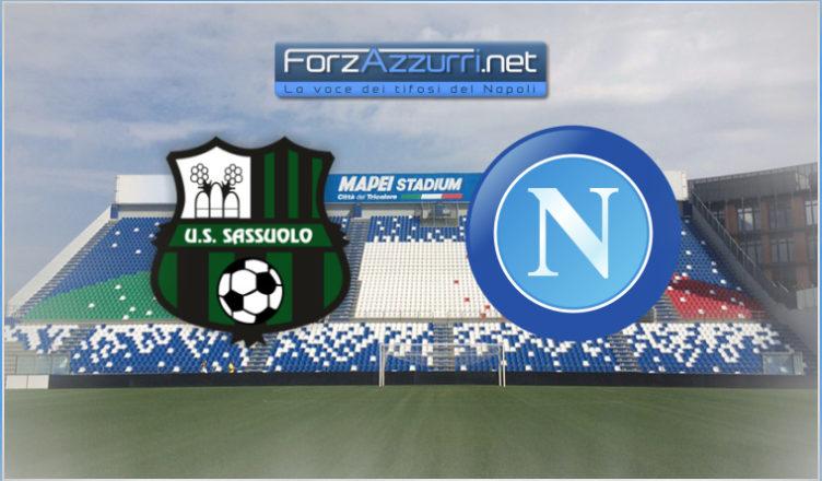 Sassuolo-Napoli - FirstRadioWeb