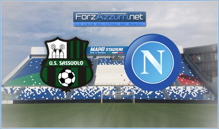 Sassuolo-Napoli cambia orario d'inizio, lo rende noto la Lega di Serie A