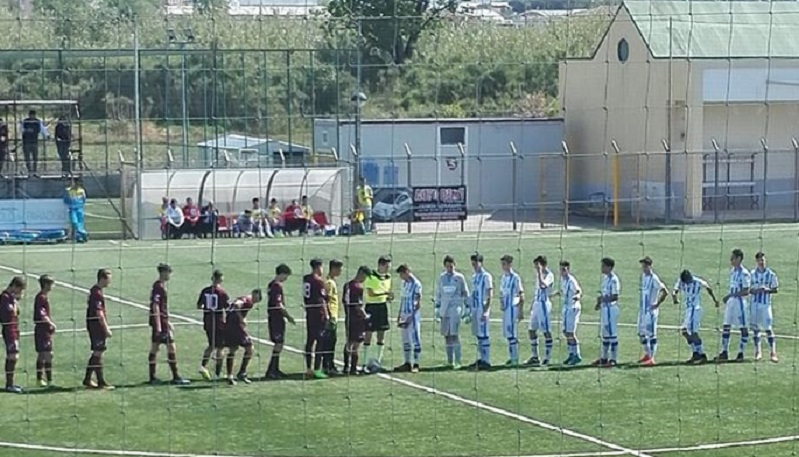 "UNDER 15- E' festa al ""Volpe"", la Salernitana batte il Pescara e guadagna meritatamente i play off"
