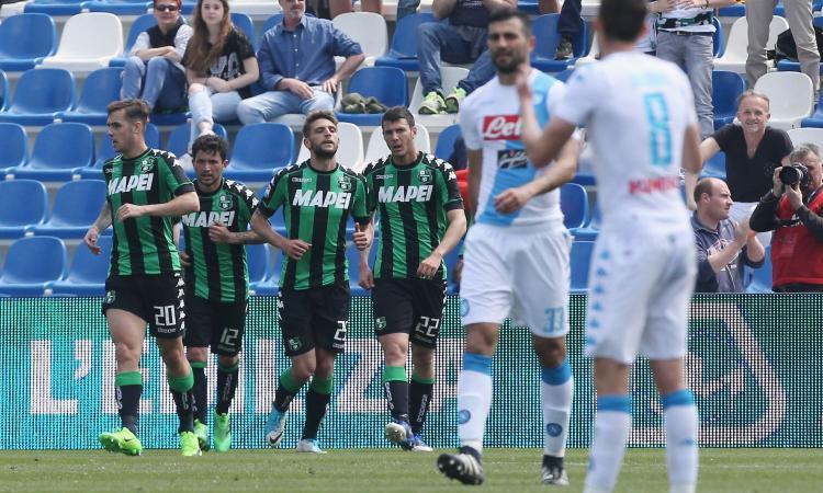 Sassuolo – Napoli: vittoria degli azzurri di carattere!