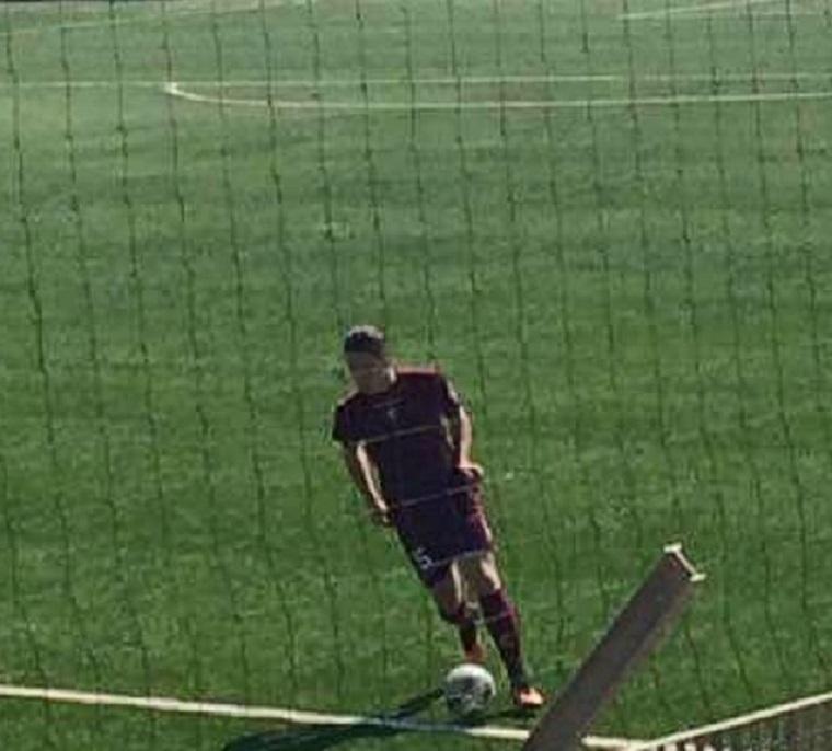 FRANCESCO DI MICCO- Il difensore goleador della Salernitana Under 15