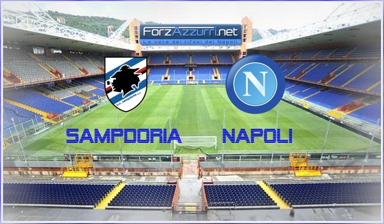 Sampdoria-Napoli, le formazioni ufficiali
