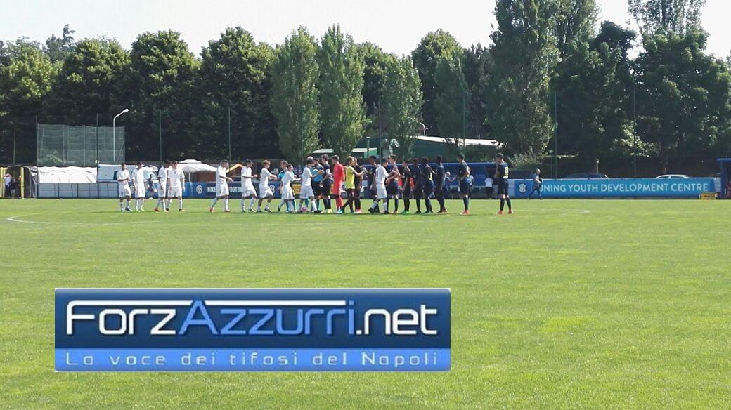 INTER-SALERNITANA (Under 15 A e B)- L'Inter conquista le finali, la Salernitana l'abbraccio dei suoi tifosi