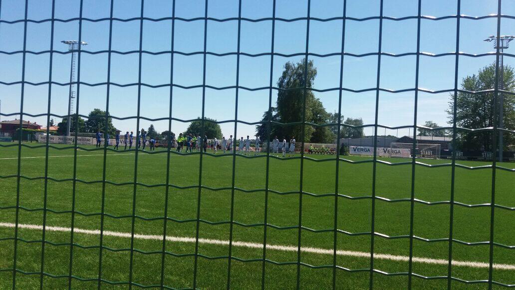 """UNDER 17 LEGA PRO- Quarti play off: ad Orsenigo termina 2-2 il match Como-Catania. Domenica 28 maggio return match a """"Torre del Grifo"""""""