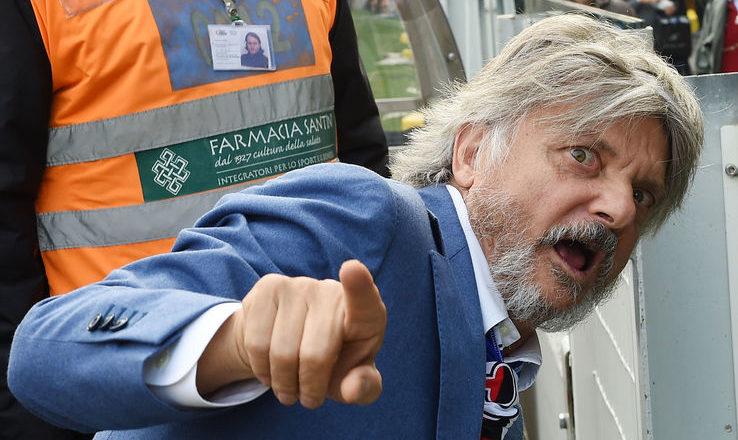 Ferrero all'attacco: che stoccate al Milan ea Lotito