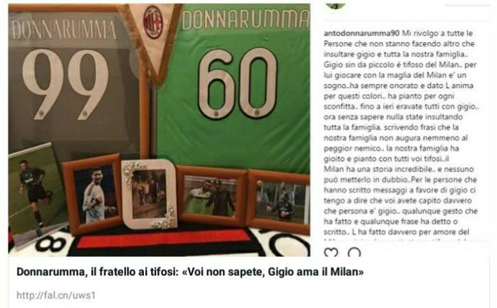 Calciomercato: Donnarumma non rinnova col Milan. Fassone: