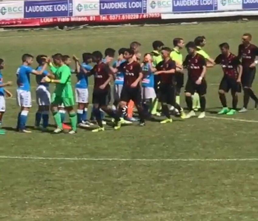 """TORNEO """"CITTA' DI LODI""""- Con un gol di Cirillo il Napoli """"sgambetta"""" il diavolo"""
