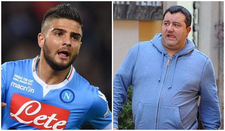 Procura Insigne-Raiola, domani il manager atteso a Napoli per l'incontro decisivo?