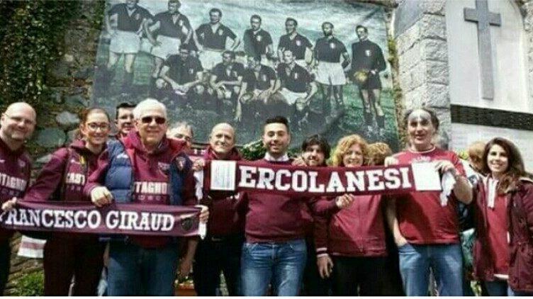 Torino, gli ultras granata donano piante per rivitalizzare il Vesuvio. Omaggio all'Ercolanese