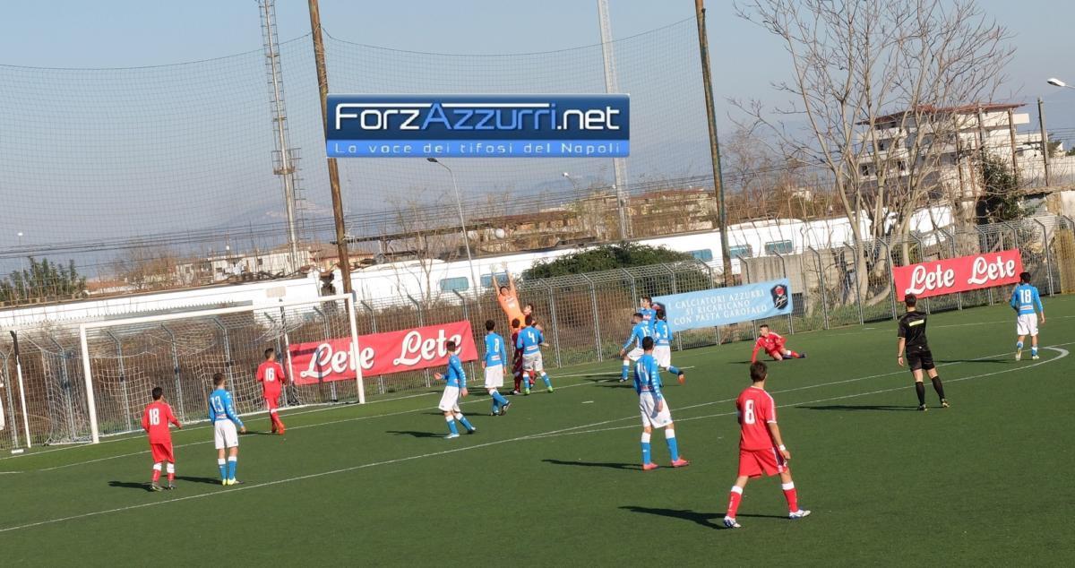 GIOVANILI NAPOLI- L'Under 15 è troppo pigra contro il Bari. Under 16: vittoria da grande squadra