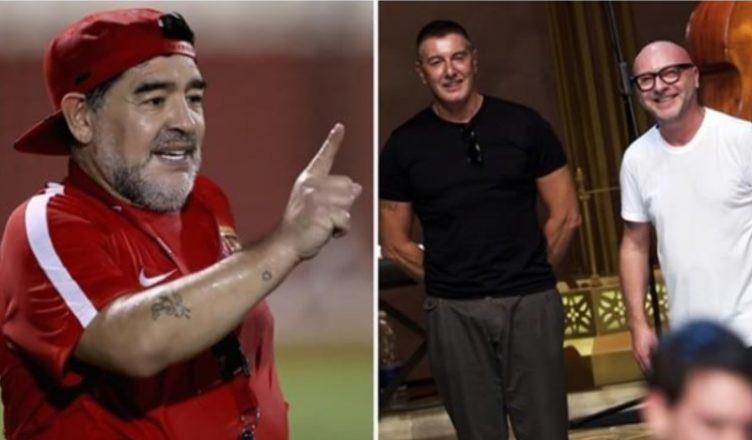 Maradona cita in giudizio Dolce & Gabbana