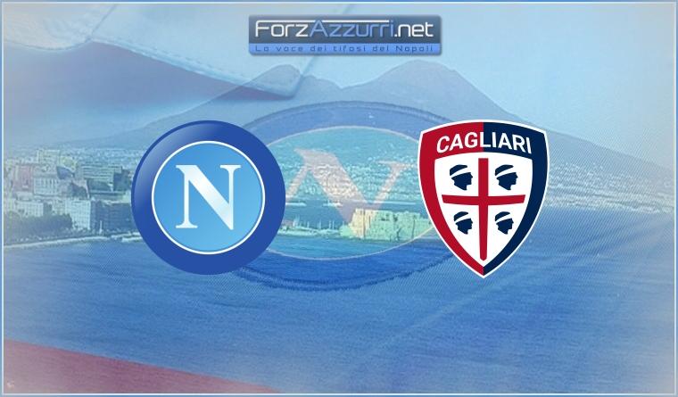 Napoli-Cagliari – Le formazioni ufficiali
