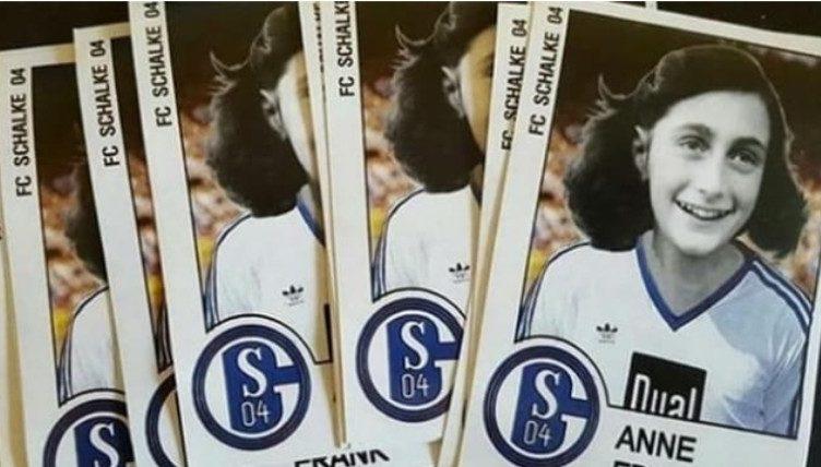 L'ignoranza non ha confini: adesivi di Anna Frank in maglia Schalke