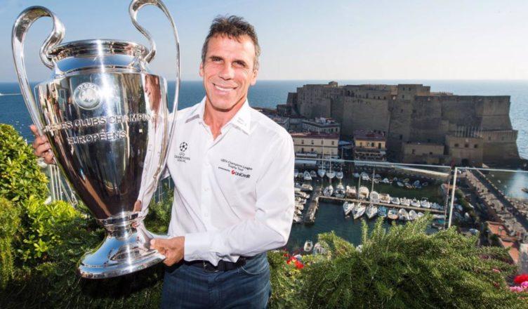Napoli, un selfie con la Champions