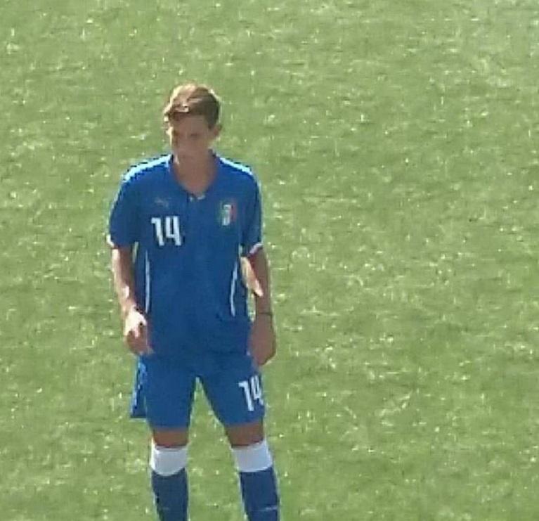 ITALIA U17 Lega Pro- Anche Diaco in campo per lo stage del 3 ottobre