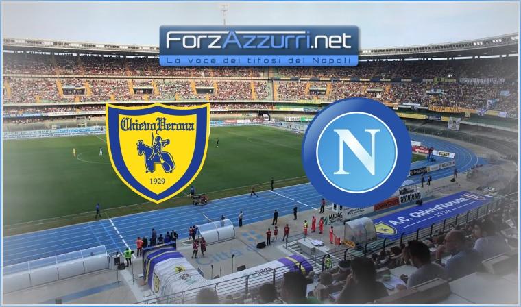 Chievo-Napoli Formazioni ufficiali - ForzAzzurri.net