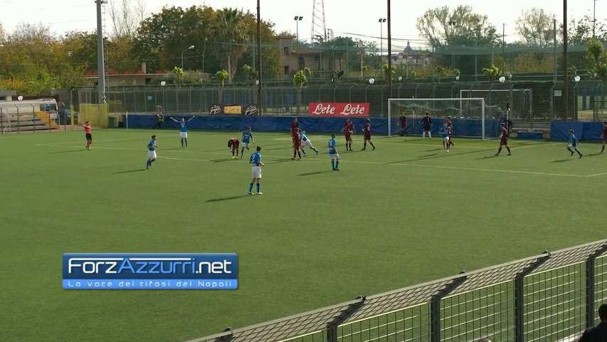 UNDER15- Napoli-Salernitana 3-0: derby ai partenopei, che spettacolo gli azzurrini!