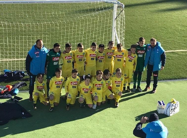 ESORDIENTI NAPOLI- La classe 2006 batte in finale gli svedesi del Brommapojkarna e vince il Memorial Prof. Cirillo- Viesse Cup