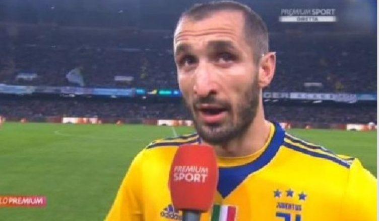 Juventus, senti Chiellini: