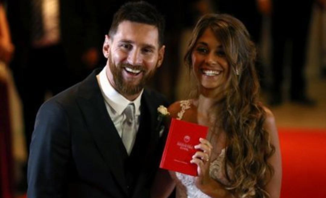 FOTO – Messi il campione del Barça, ha scelto un nome tutto napoletano per il figlio