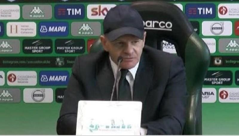 """Sassuolo, Iachini: """"Sul 2-0 potevamo chiuderla, loro hanno creato solo qualche occasione…"""""""