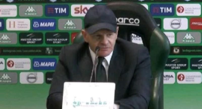 """Sassuolo, Iachini innervosito: """"Polemiche post Napoli, cose assurde! Chi dice Scansuolo con la Juve non ha visto le altre partite…"""""""