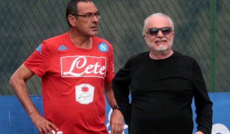 Milan-Napoli, applausi alla squadra ma contestazione a De Laurentiis dal settore ospiti