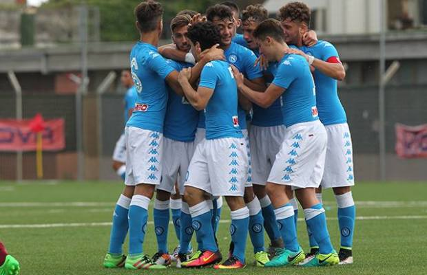 Napoli Under 17: asfaltata la Salernitana, gli azzurrini di Chianese in zona play-off!