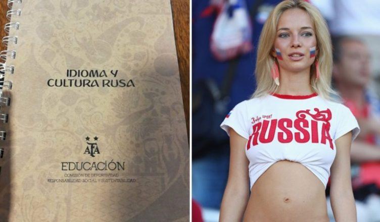 'Così vi portate a letto una donna russa', il manuale d'amore della federazione argentina