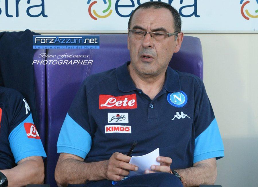 Sarri paragona il campionato attuale a quello con Napoli
