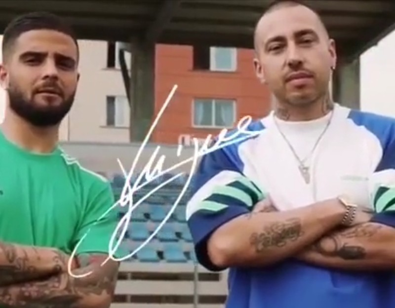 """VIDEO – Insigne-Luchè, spot Adidas spettacolo! """"Questa è la città dove sono nato, un ragazzino ambizioso una rivincita…"""""""