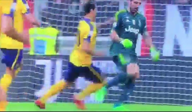 VIDEO - Juve, Buffon day rigore non fischiato anche col Verona
