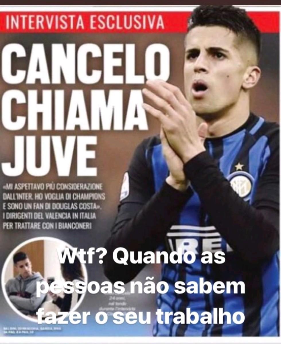 CM.COM - Cancelo vuole la Juve, blitz del Valencia in Italia! Possibile contropartita tecnica