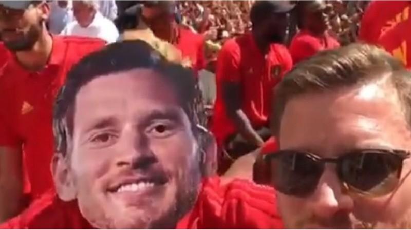 VIDEO – Mondiale Russia 2018 Belgio terzo classificato, Mertens scatenato nei festeggiamenti. Guardate