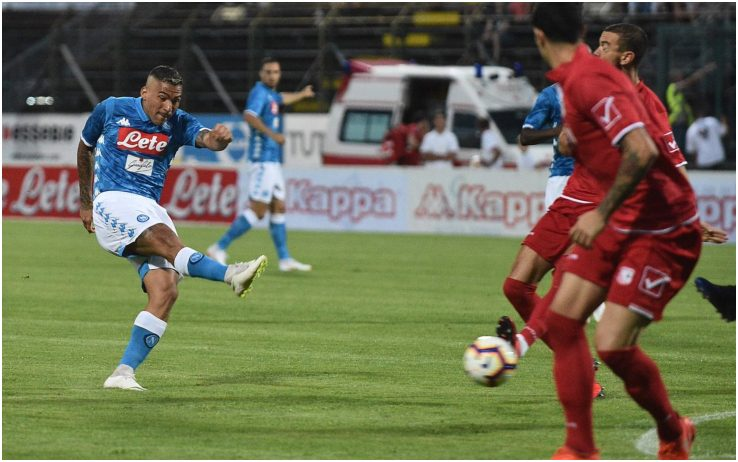 """Spettacolo Napoli: 5-1 al Carpi. Ancelotti: """"Non abbiamo sottovalutato l'impegno, sono soddisfatto"""""""