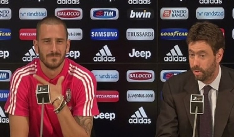UFFICIALE – Juventus, Bonucci è risultato positivo al Covid-19 al rientro dalla Nazionale