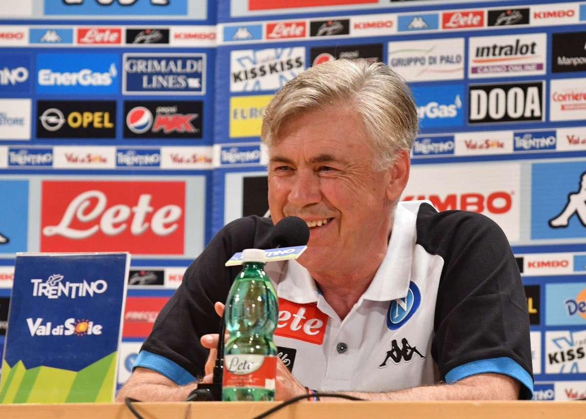 """Ancelotti su le griglie estive: """"Davano il Napoli quinto perché vanno dietro ai nomi, ma quando non si cambia ci sono dei vantaggi!"""""""