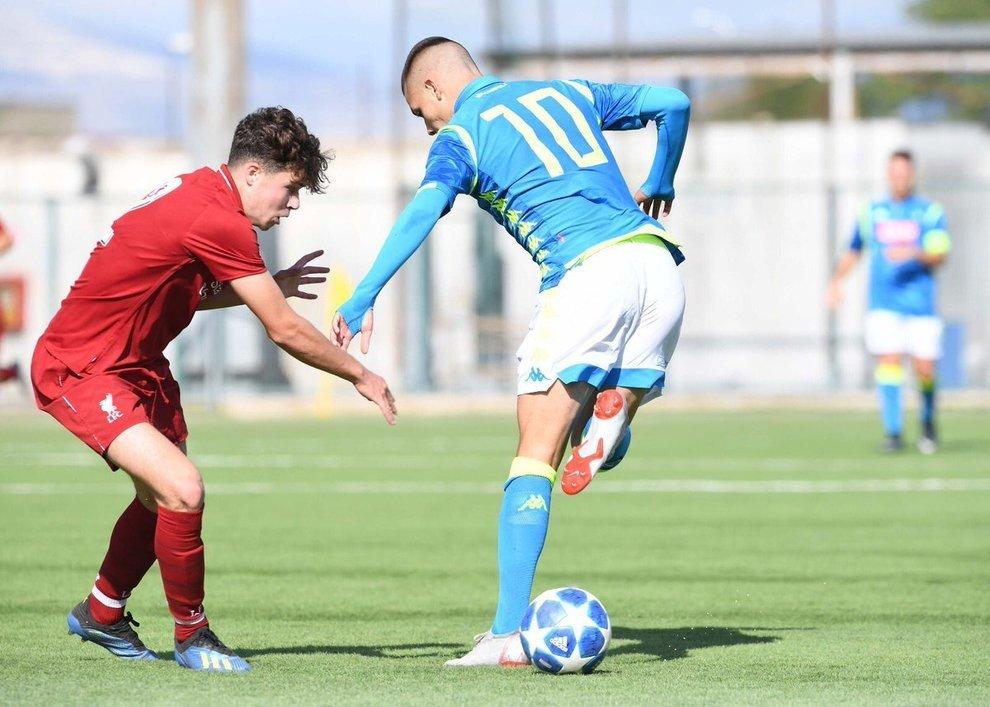 Youth League – Napoli-Liverpool, ottima prova degli azzurrini. Fermato lo squadrone inglese!