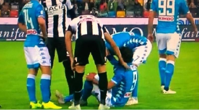 Udinese-Napoli, Verdi esce anzitempo: chiaro il labiale, il motivo