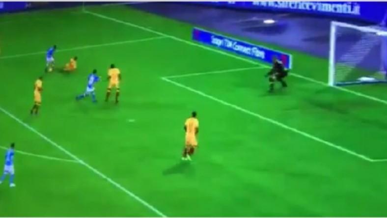 VIDEO – La maledizione di Michu: Fabian Ruiz contro la Roma stessa posizione non tira ma passa…
