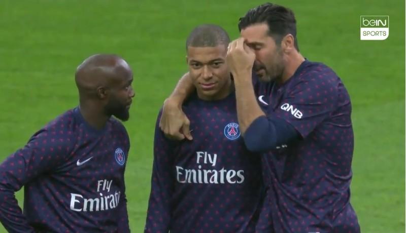 VIDEO – PSG – Mbappè punito da Tuchel, arriva anche la ramanzina da Buffon! Guardate