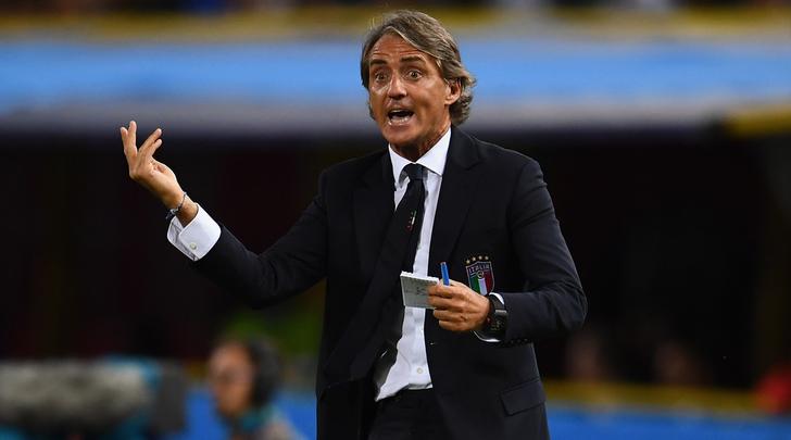 """Mancini: """"Farò un tridente. Ci sarà chi giocherà entrambe le gare"""""""