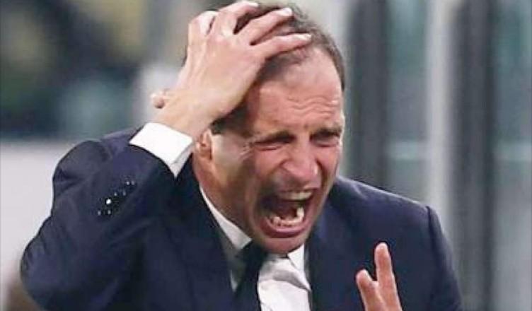 Juventus: Allegri furioso con Agnelli e Cherubini, il tecnico è deluso dal mercato