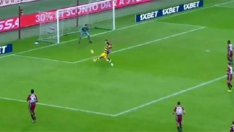 VIDEO – Torino-Parma, gol di Inglese da vero bomber!