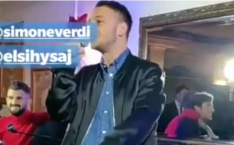 VIDEO – Cena di Natale SSC Napoli: Anastasio canta il suo inedito, Hysaj e Verdi entusiasti