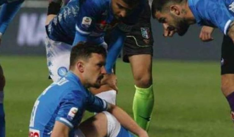 Mario Rui infortunio