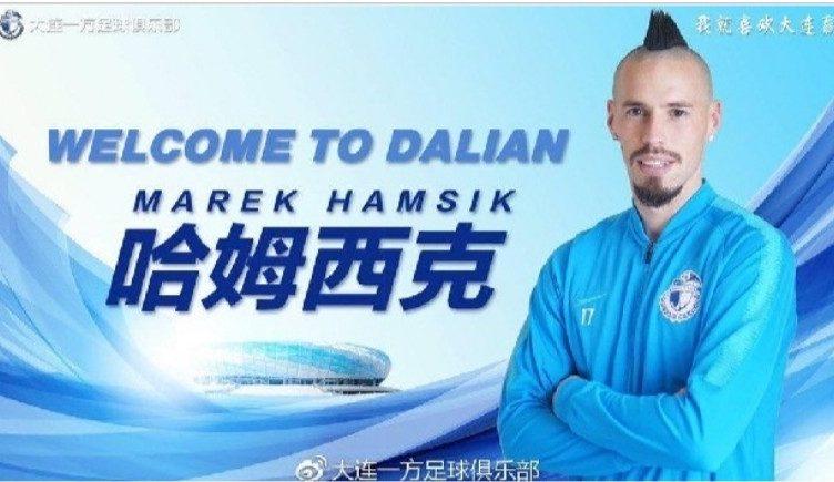 Hamsik Dalian