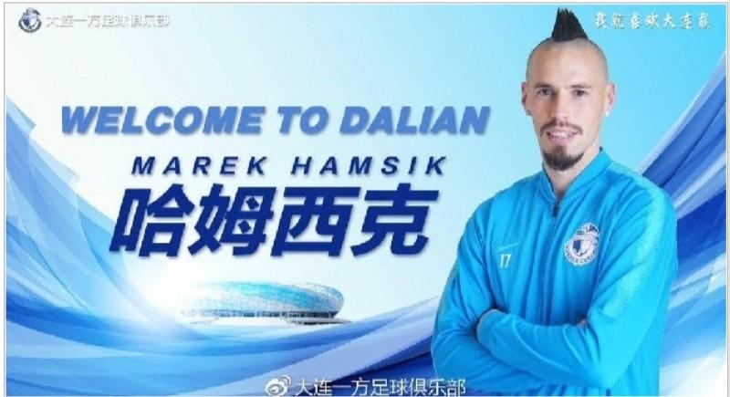 VIDEO – Hamsik, il Dalian lo presenta con un videoclip da brividi!
