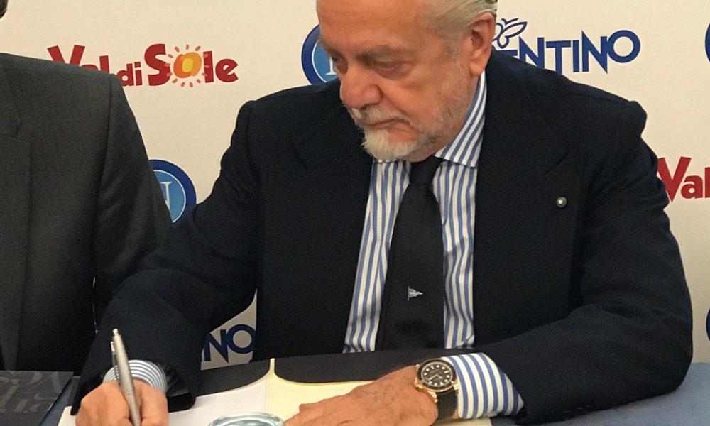 De Laurentiis paga aprile e maggio senza tagli: promessa mantenuta